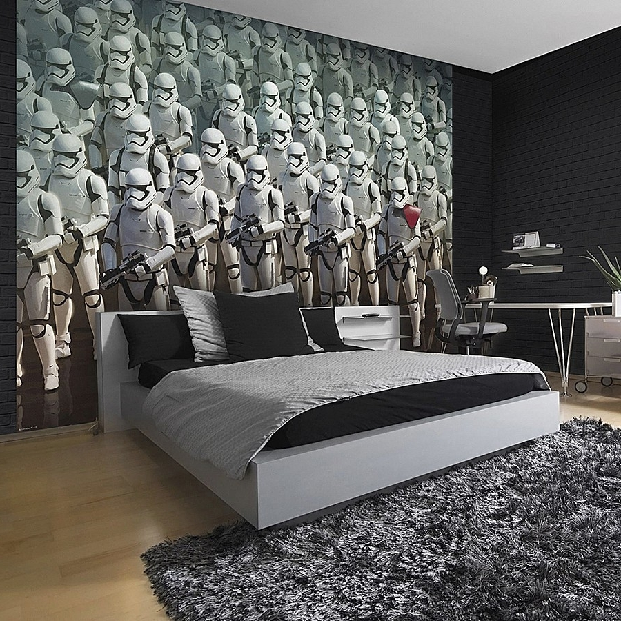 Diy Star Wars Wall Art Elegant Star Wars Wall Murals Is So Famous For Famous Diy Star Wars Wall Art (View 4 of 15)