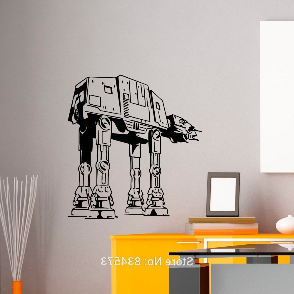 Diy Star Wars Wall Art Regarding Current Rummy Designers Homeowners Star Wars Wall Art Interior Painting (View 6 of 15)