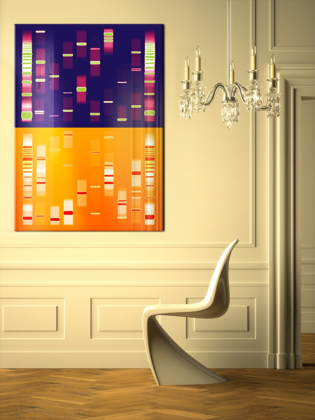 The Best Dna Wall Art