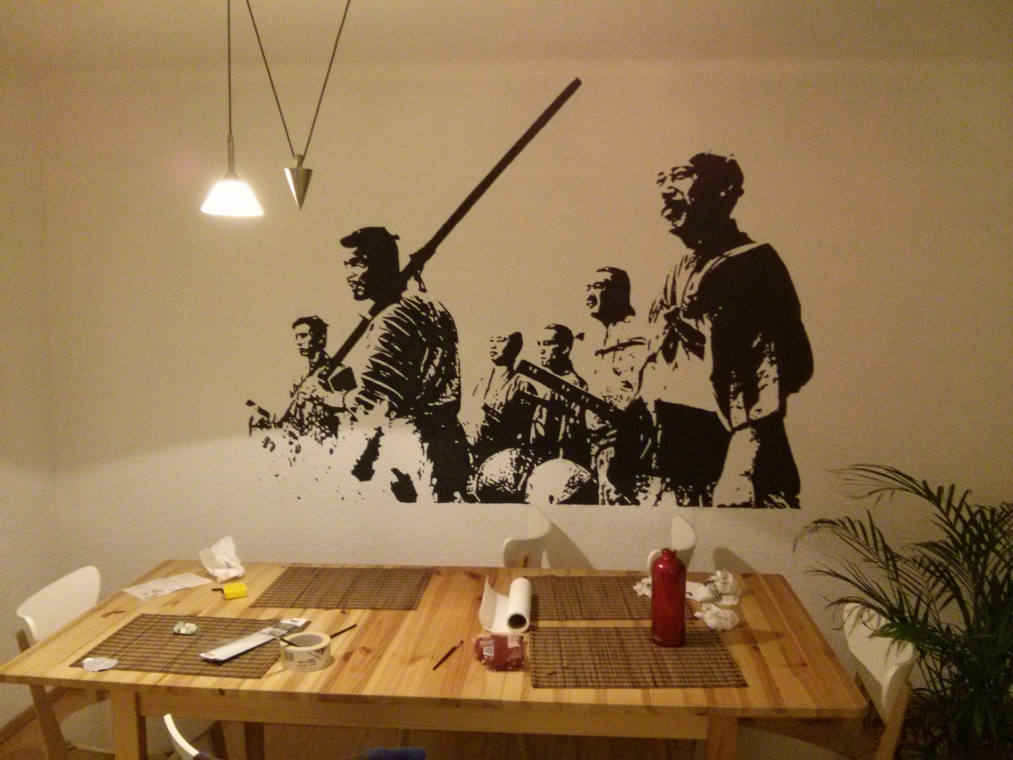 Do It Yourself Wall Art: Seven Samurai In Your Home! – Cube Breaker With Regard To 2018 Samurai Wall Art (Gallery 1 of 15)