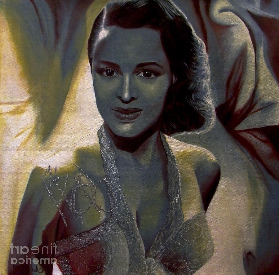 Dorothy Dandridge Wall Art With Most Current Chelle Brantley – Artwork For Sale – Vacaville, Ca – United States (Gallery 14 of 15)