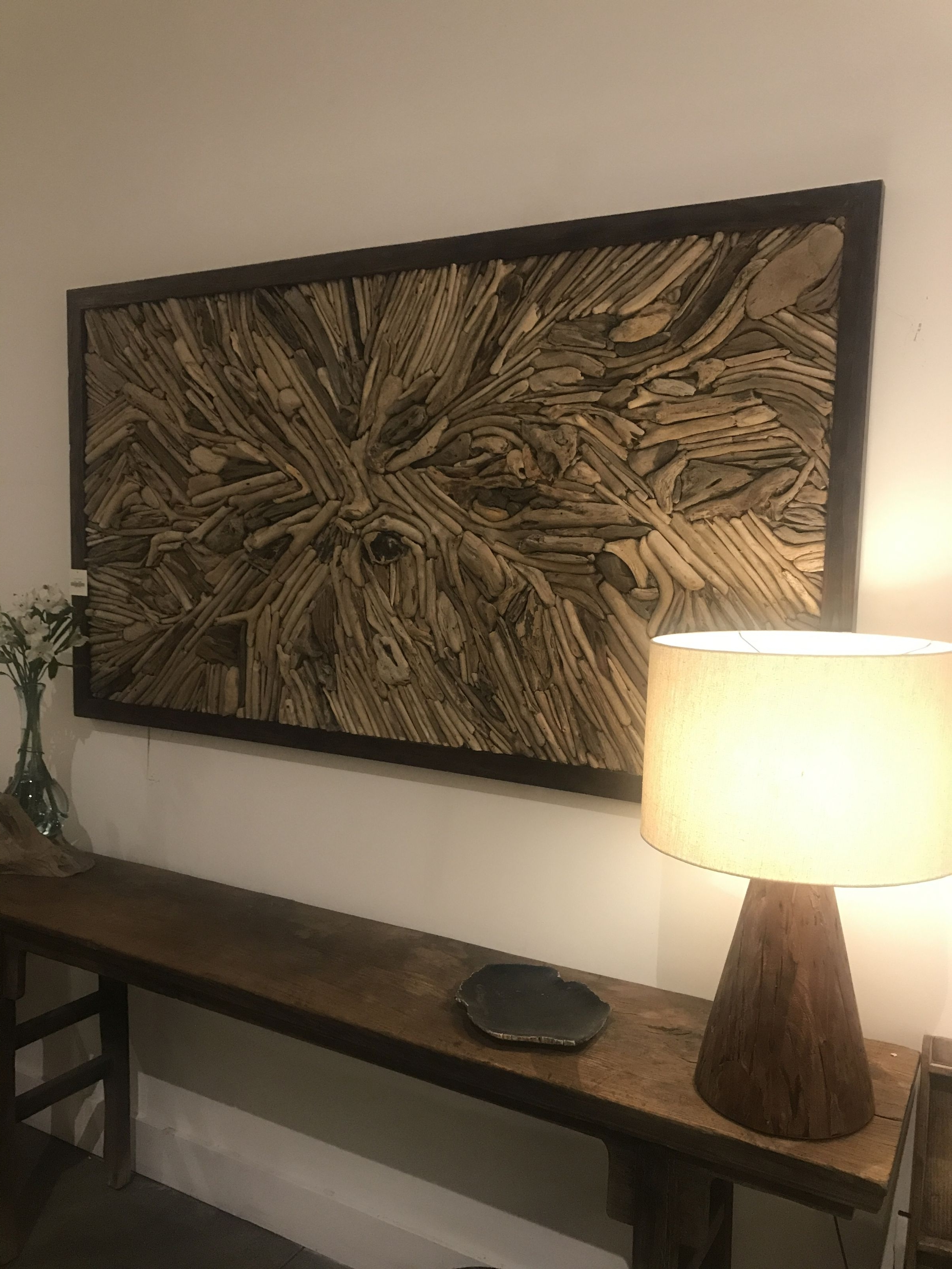 Driftwood Wall Art – Mecox Gardens For Most Current Driftwood Wall Art (Gallery 1 of 15)