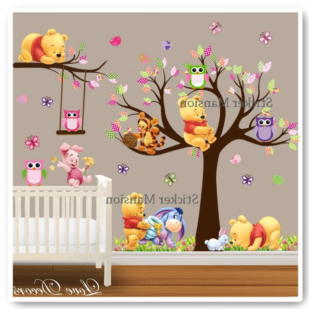 Ebay Winnie The Pooh Wall Decorations Regarding Winnie The Pooh Wall Art (Gallery 10 of 15)