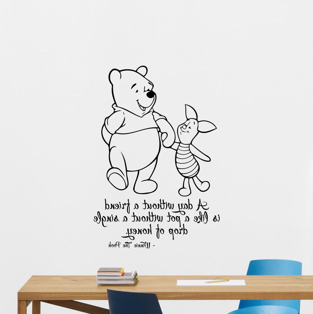 Ebay With Regard To Winnie The Pooh Vinyl Wall Art (View 3 of 15)