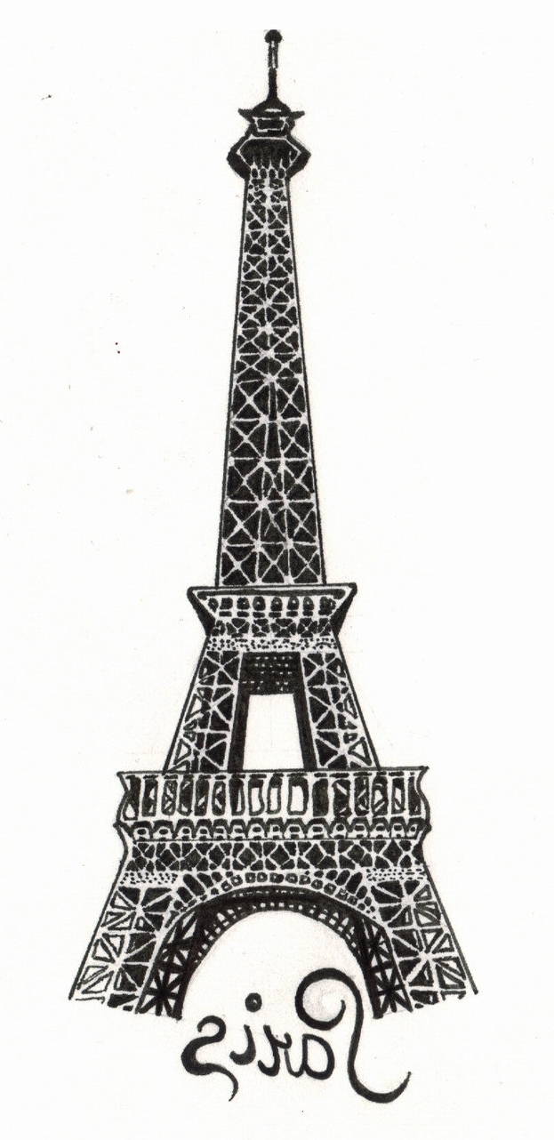 Eiffel Tower Metal Wall Art For Fashionable Paris – The Eiffel Towerthe Snow White On Deviantart (View 7 of 15)
