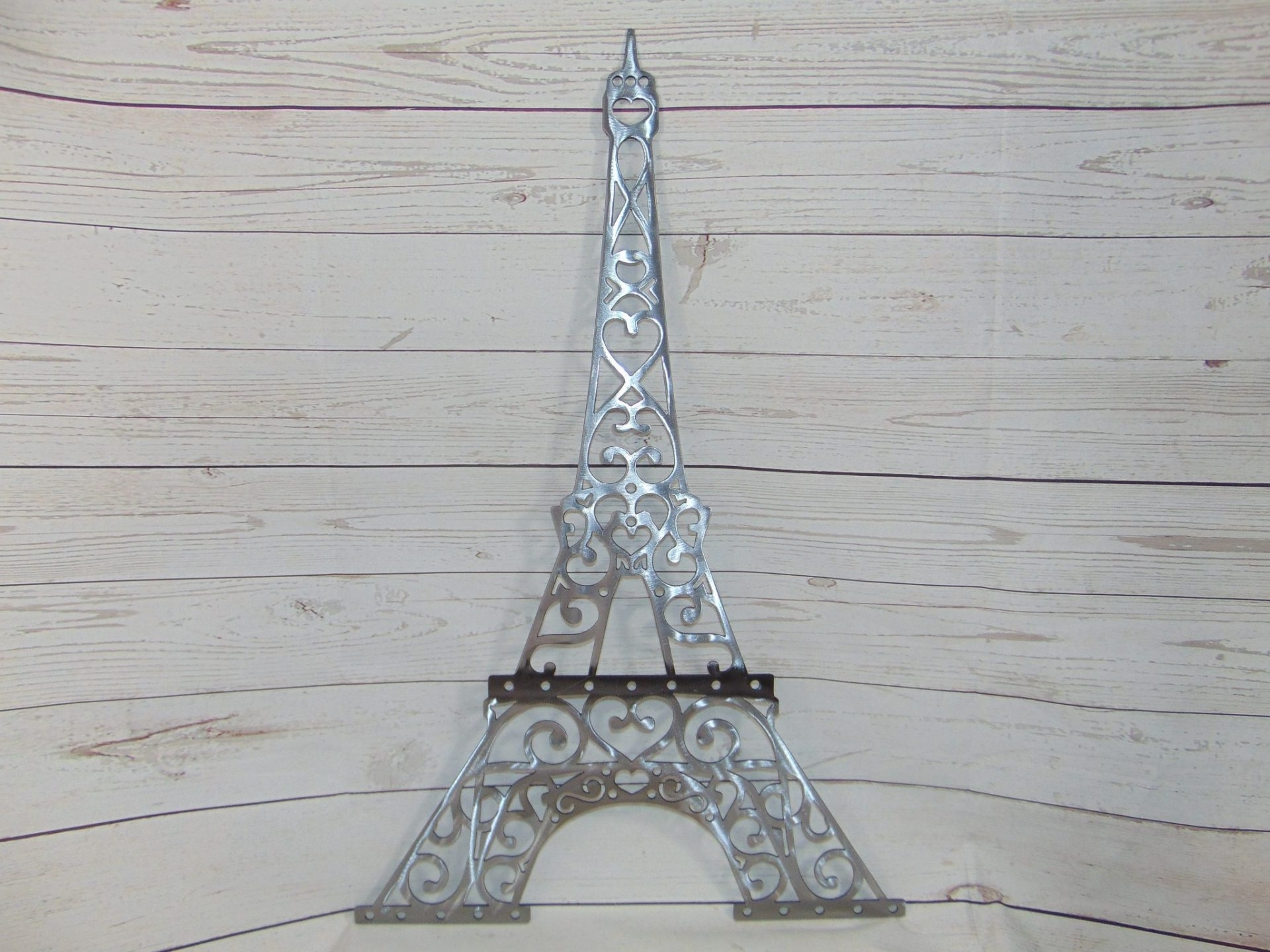 Eiffel Tower Metal Wall Art Intended For Newest Eiffel Tower Metal Wall Art (Gallery 1 of 15)