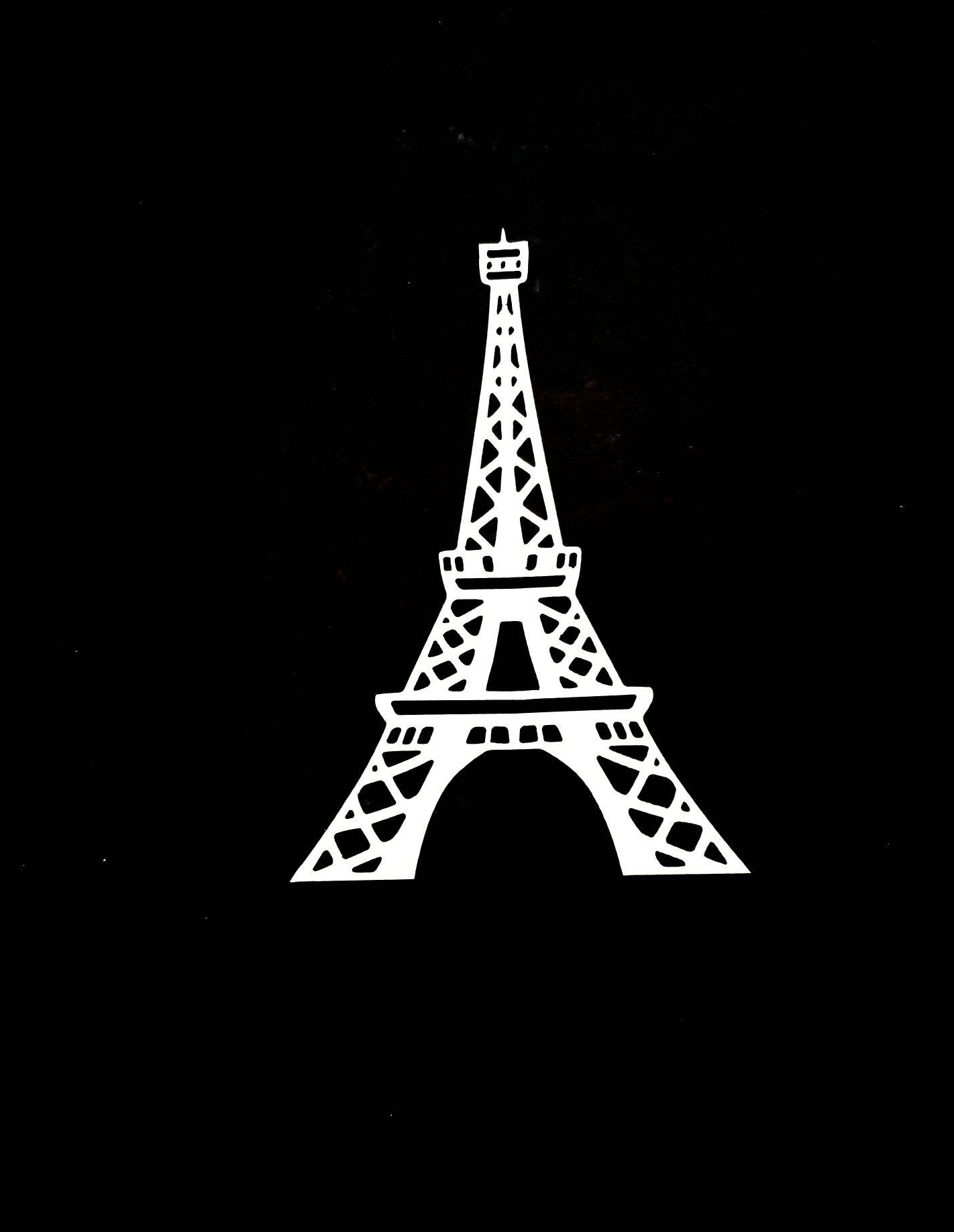 Eiffel Tower Metal Wall Art/paris Decor/eiffel Tower Decor/paris Throughout Preferred Metal Eiffel Tower Wall Art (View 4 of 15)