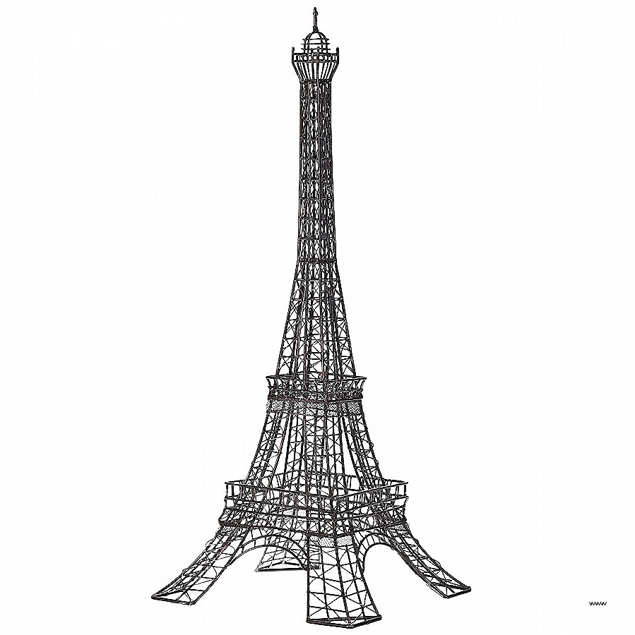 Eiffel Tower Metal Wall Art With Regard To Latest Eiffel Tower Metal Wall Decor Fresh Eiffel Tower Decorative Metal (View 9 of 15)