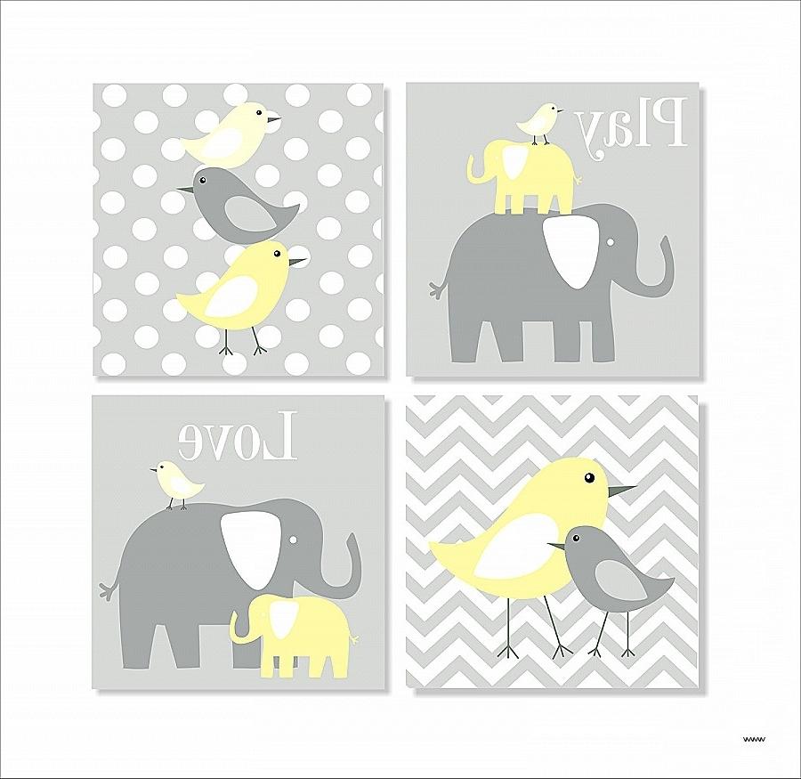 Elephant Wall Art For Nursery Luxury Elephant Wall Art For Nursery With Regard To 2018 Elephant Wall Art For Nursery (Gallery 13 of 15)