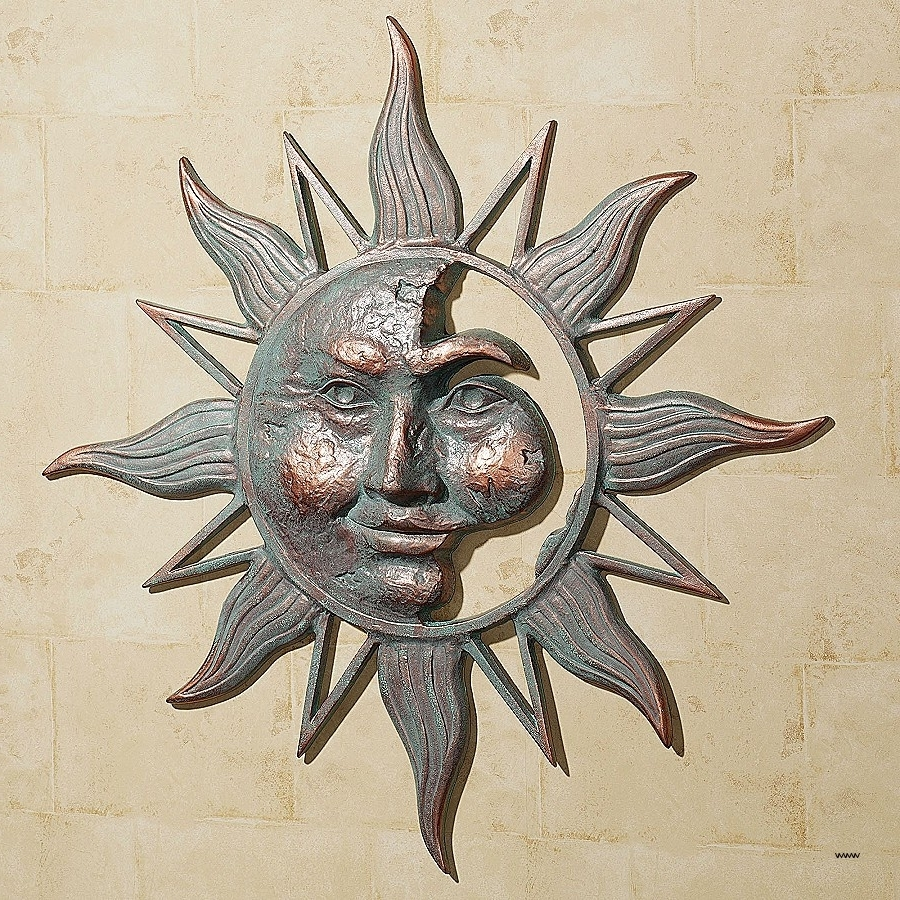Elmo Wall Art New 42 Metal Wall Art Outdoor Sun And Moon Metal Within Newest Sun And Moon Metal Wall Art (Gallery 11 of 15)