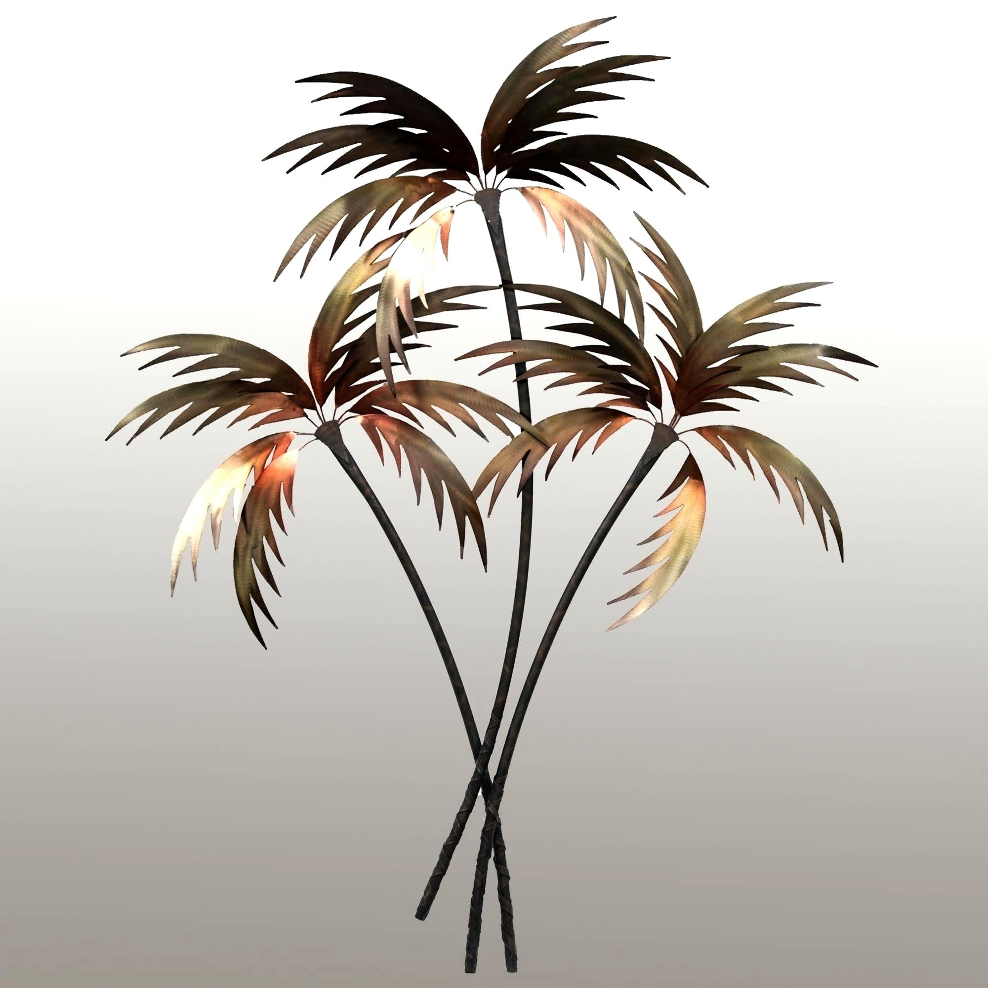 Enchanting Palm Tree Oasis Metal Wall Ideas Wall Ideas Outdoor Throughout 2018 Palm Tree Metal Wall Art (View 1 of 15)
