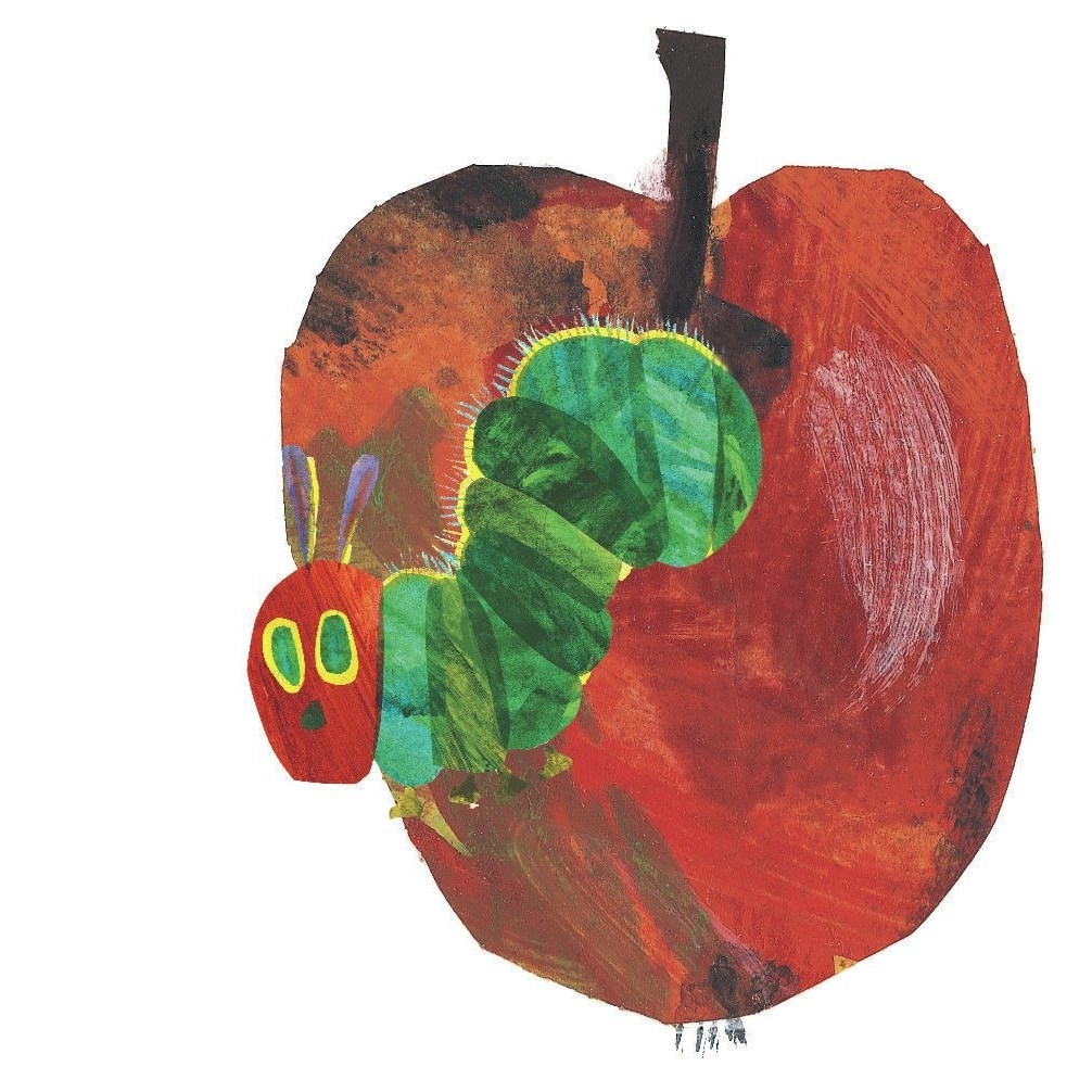 Eric Carle Wall Art Intended For Current Hungry Caterpillar'eric Carle Painting Print On Wrapped Canvas (View 6 of 15)
