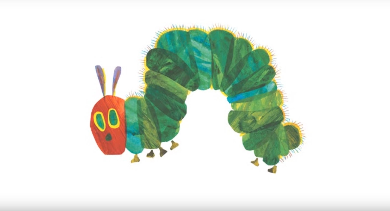 Eric Carle Wall Art Pertaining To Well Known Eric Carle's The Very Hungry Caterpillar Wall Decals – Youtube (View 7 of 15)