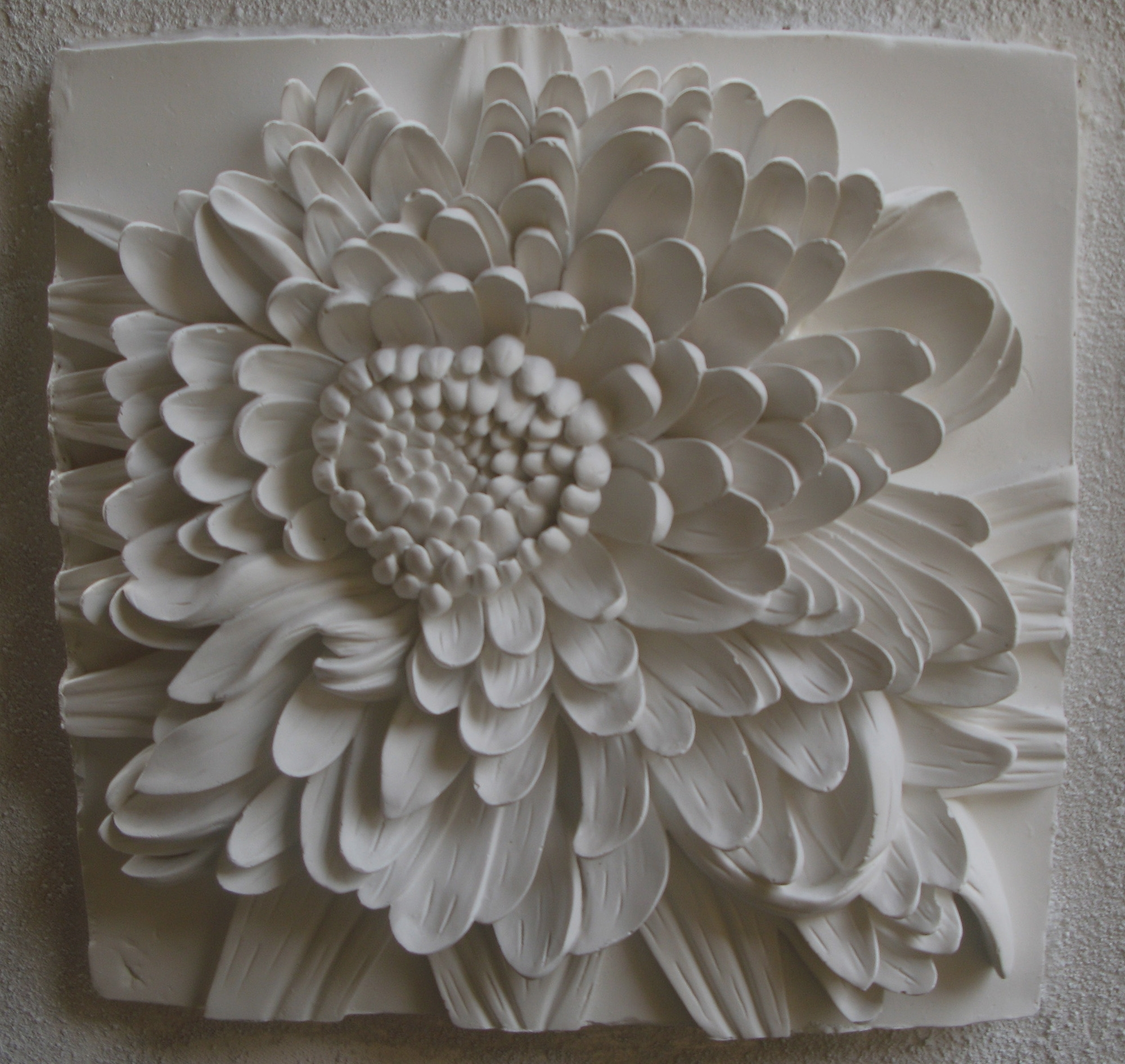 Excellent Ideas 3D Flower Wall Art Metal Paper Ceramic Diy Inside Latest Ceramic Flower Wall Art (View 6 of 15)