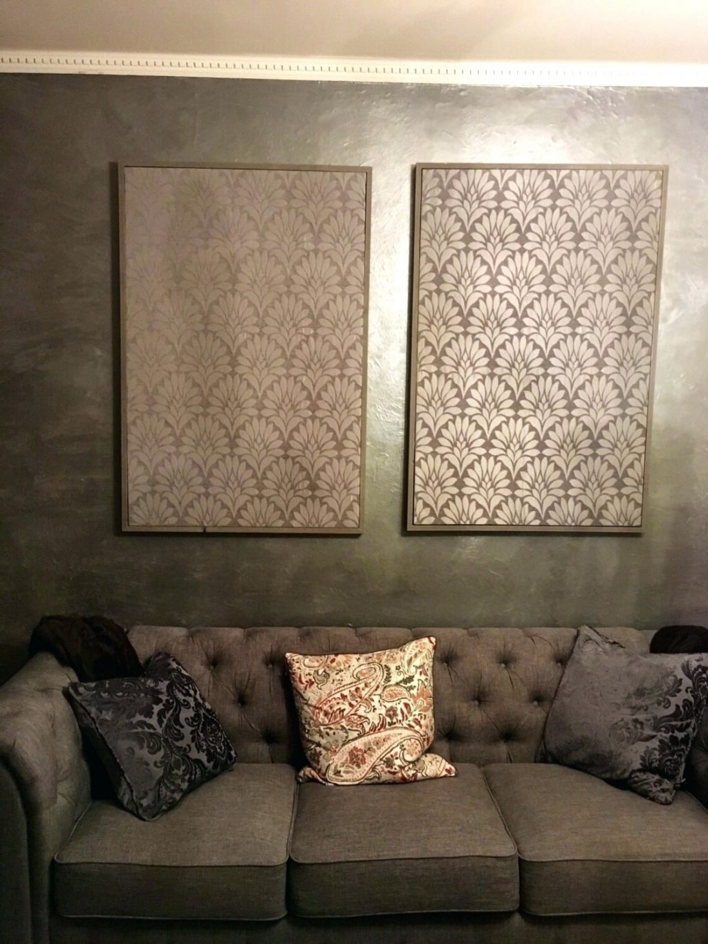 Fabric Wall Art For Well Known Wall Arts ~ Fabric For Wall Art Hangings Fabric Art Wall Hangings (View 5 of 15)