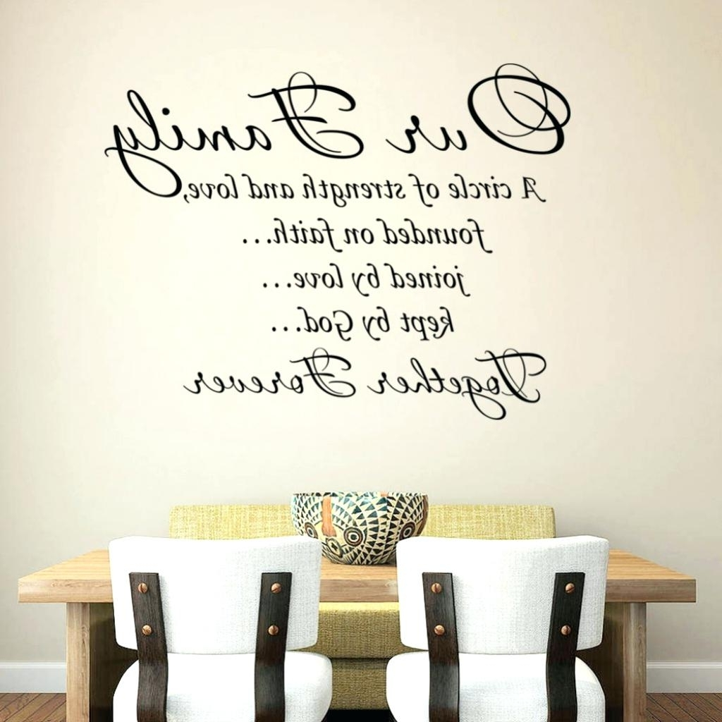 Family Wall Art Decals Family Quote Wall Art Daily Quotes Of The Regarding  Popular Family Photo