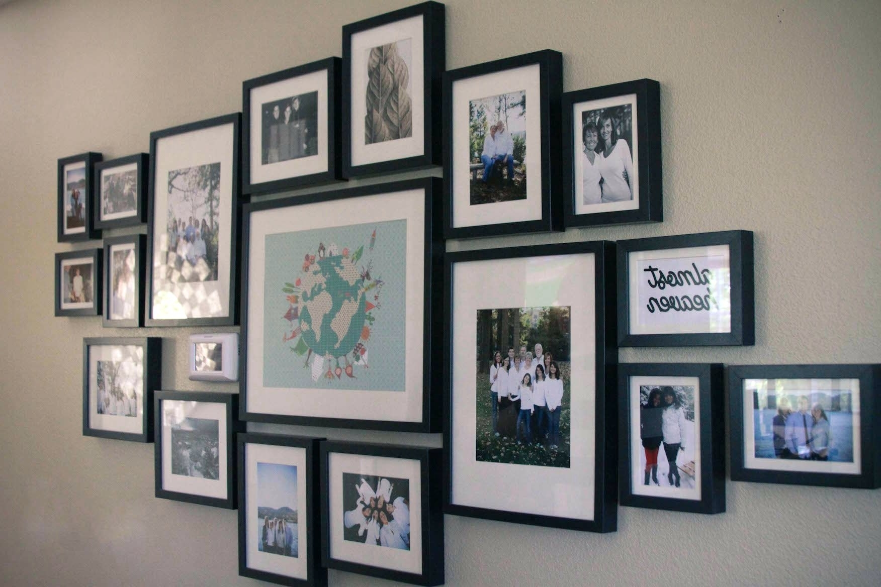 Family Wall Art Picture Frames Throughout 2018 Wall Arts ~ Fulgurant End Frame Family Wall Art Frames As Wells As (View 12 of 15)