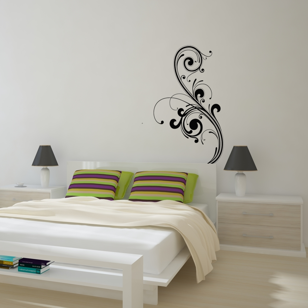 Famous Abstract Art Wall Decal Intended For Abstract Art Wall Decal Removable Wall Stickers And Wall Wall In (View 5 of 15)
