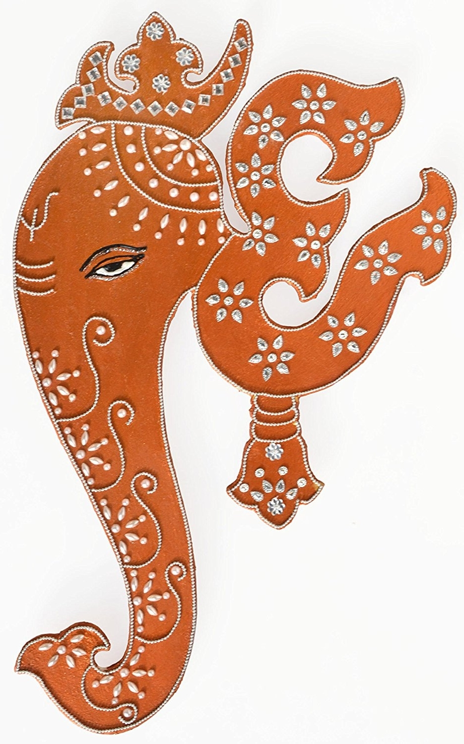 Famous Amazon: Indian Art Wall Decor Hanging Painting Of Lord Ganesha For Ganesh Wall Art (View 4 of 15)