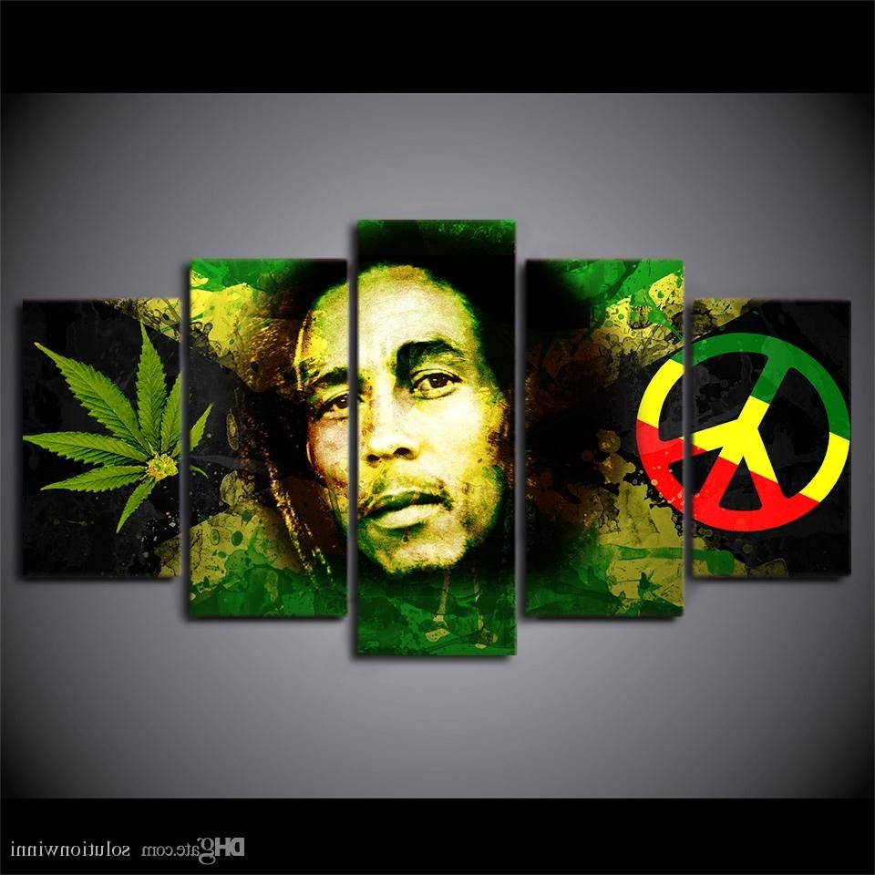 Famous Bob Marley Canvas Wall Art Pertaining To Framed Hd Printed Bob Marley Picture Wall Art Canvas Print Still (View 7 of 15)