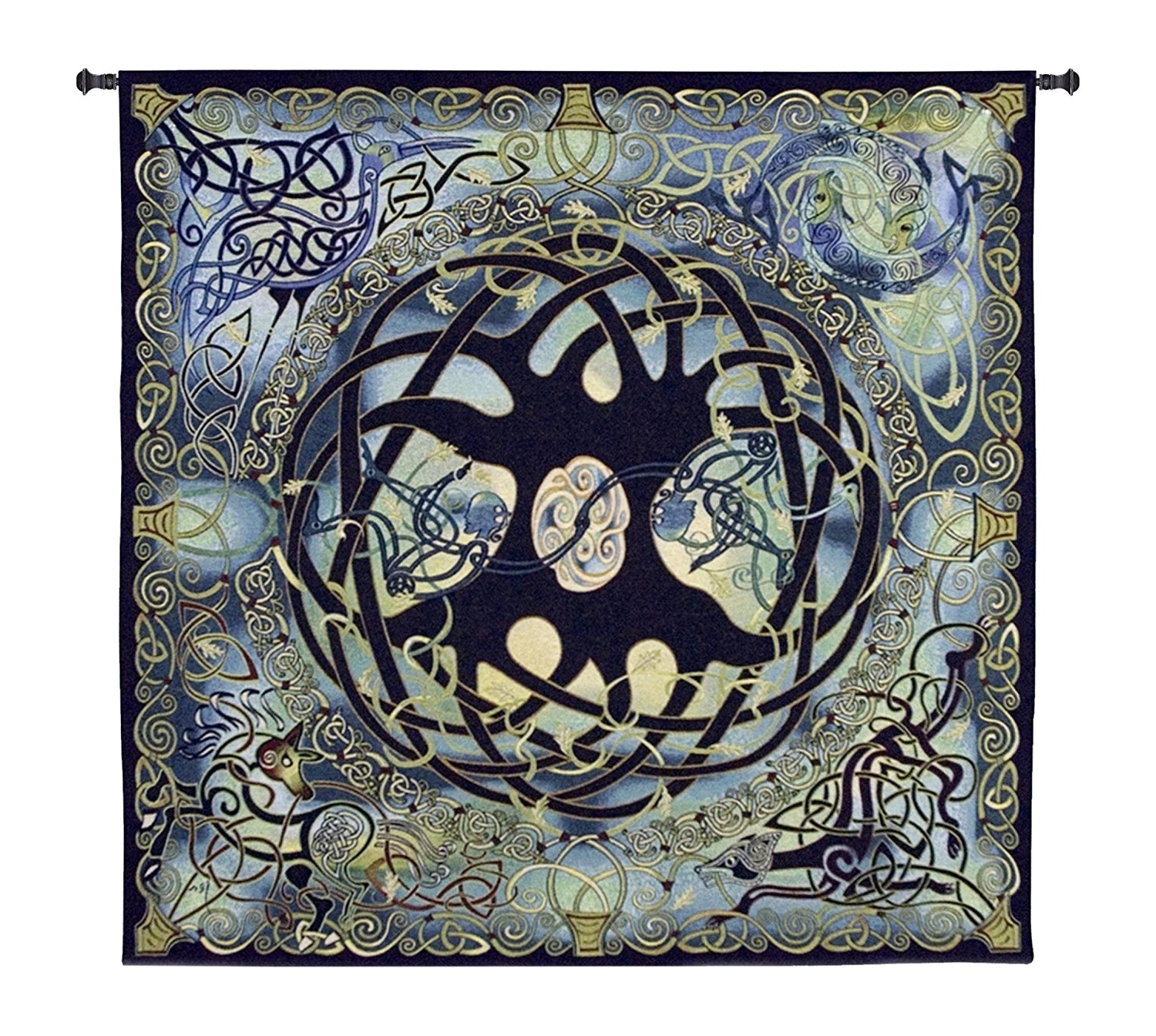 "Famous Celtic Tree Of Life Wall Art Inside Amazon: Fine Art Tapestries ""celtic Tree Of Life"" Wall (View 5 of 15)"