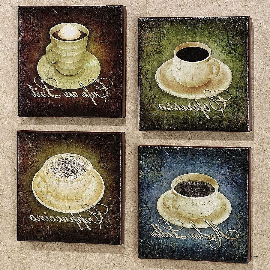 Famous Coffee Bistro Wall Art For Coffee Bistro Wall Art Awesome Ergonomic Metal Coffee Art Decor (View 10 of 15)