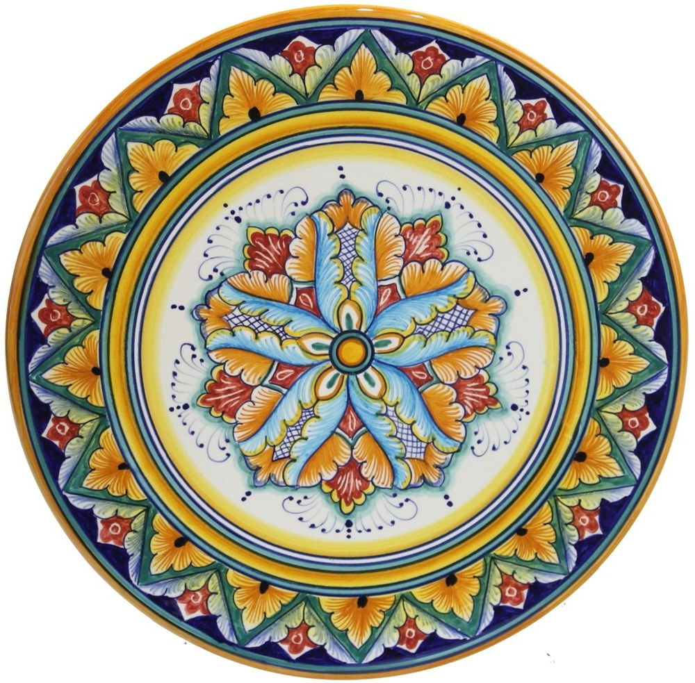 Famous Deruta Plate (View 2 of 15)