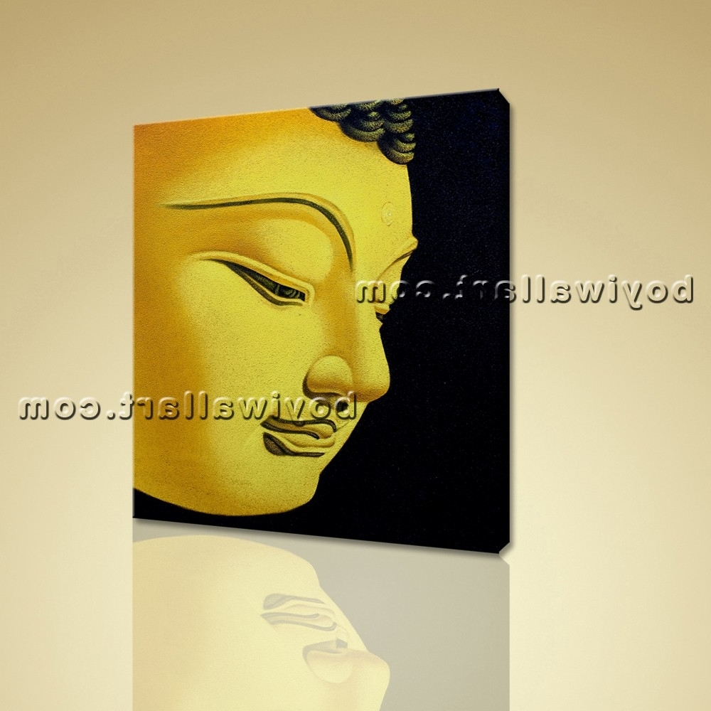 Photo Gallery of Abstract Buddha Wall Art (Showing 15 of 15 Photos)