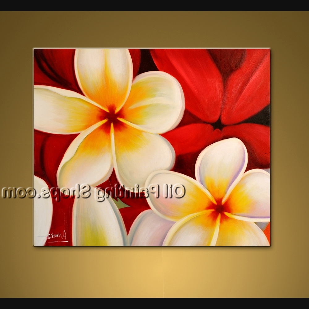 Famous Floral & Plant Wall Art Pertaining To Astonishing Wall Decorating Ideas Hand Painted Art Paintings For (View 3 of 15)