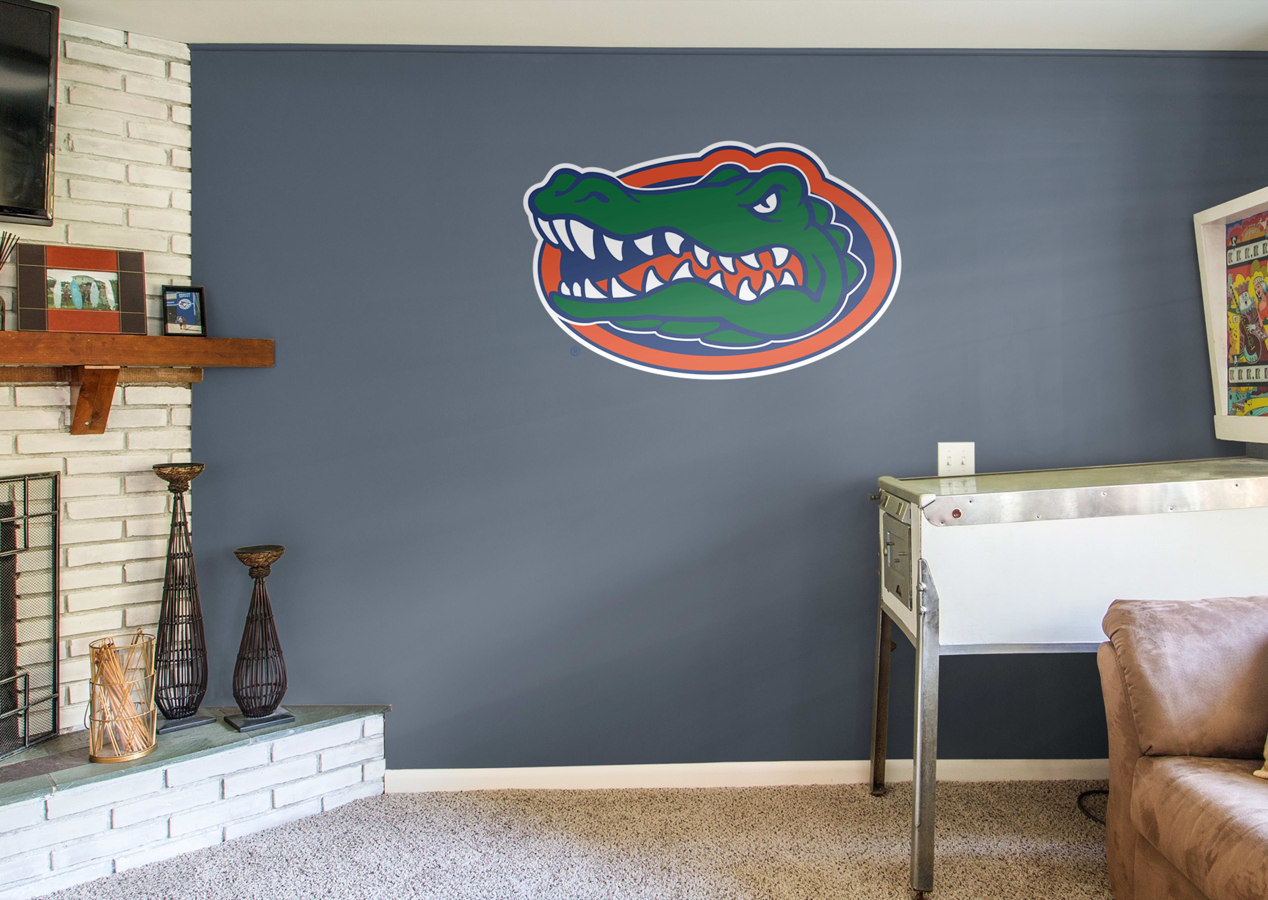 Famous Florida Gator Wall Art Throughout Florida Gators Logo Wall Decal (View 4 of 15)