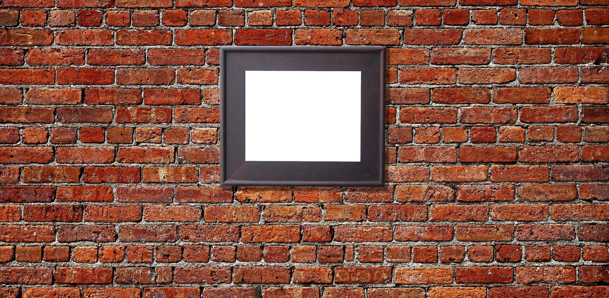 Famous Hanging Wall Art For Brick Pertaining To How Hang A Picture On