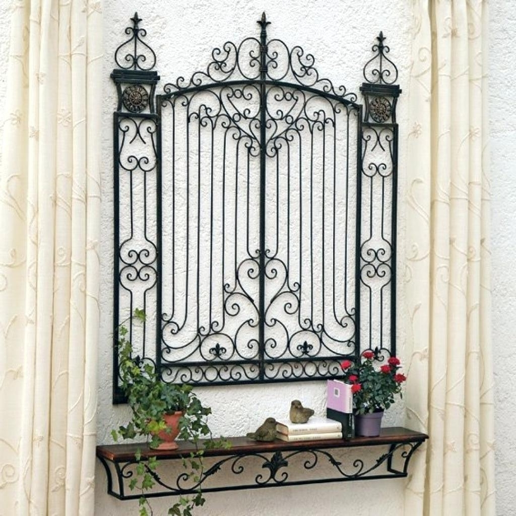 Famous Iron Gate Wall Art With Regard To Arched Iron Gate Wall Decor • Walls Decor (View 6 of 15)