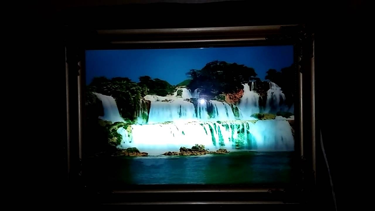 Motion And Sound Waterfall Picture Frame Famous 2018