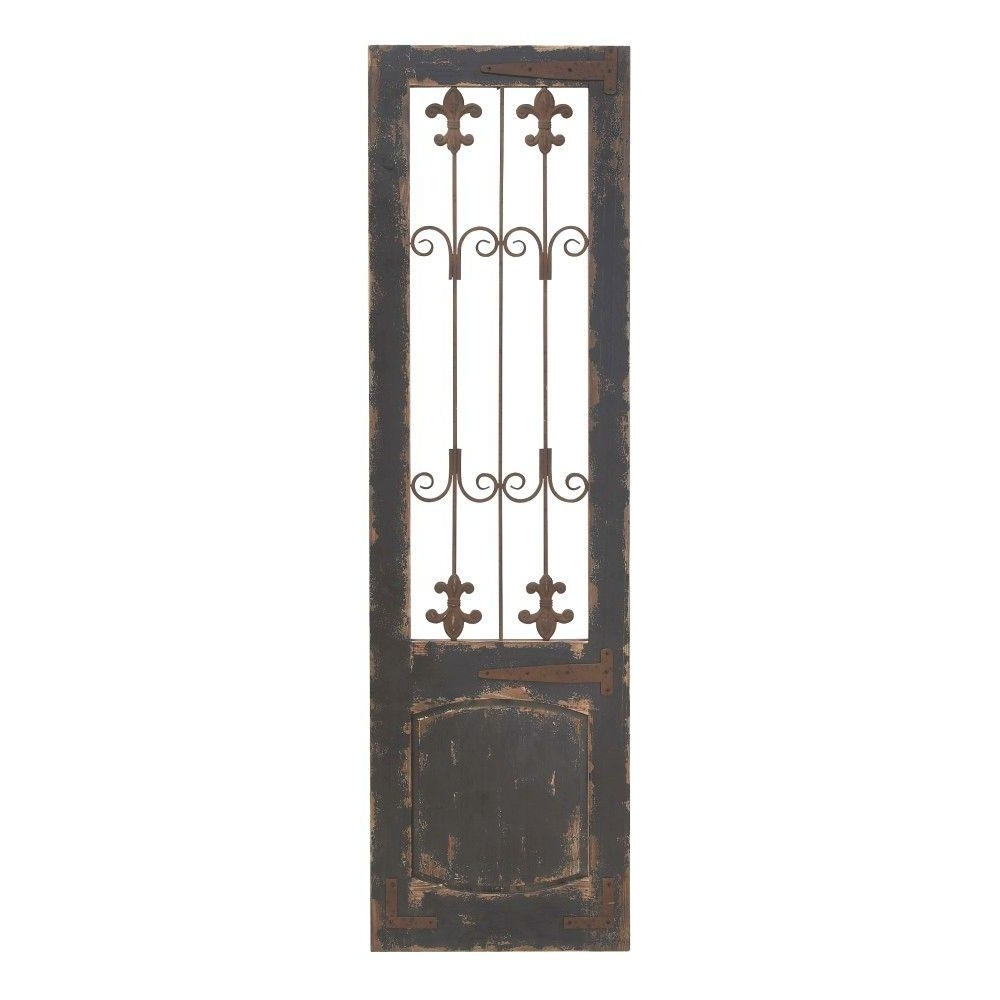 Famous Metal Gate Wall Art Within Home Decorators Collection Baroness 71 In (View 2 of 15)
