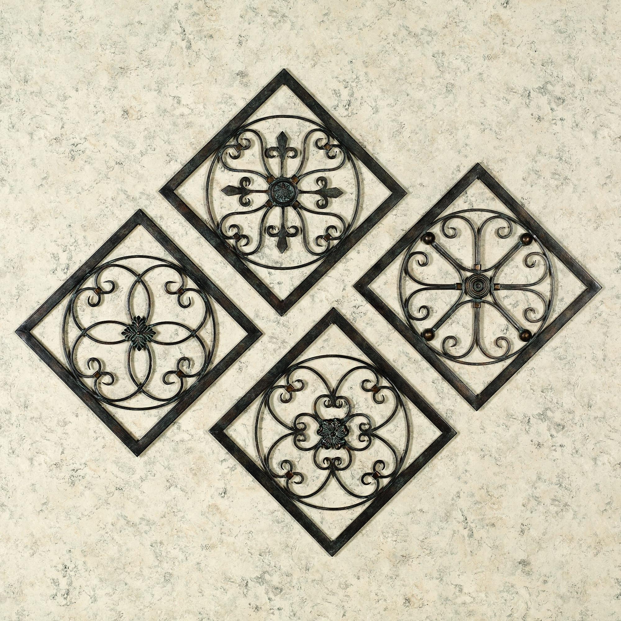Famous Metal Medallion Wall Art Regarding Furniture : Fabulous Wood Medallion Wall Decor Luxury (View 4 of 15)
