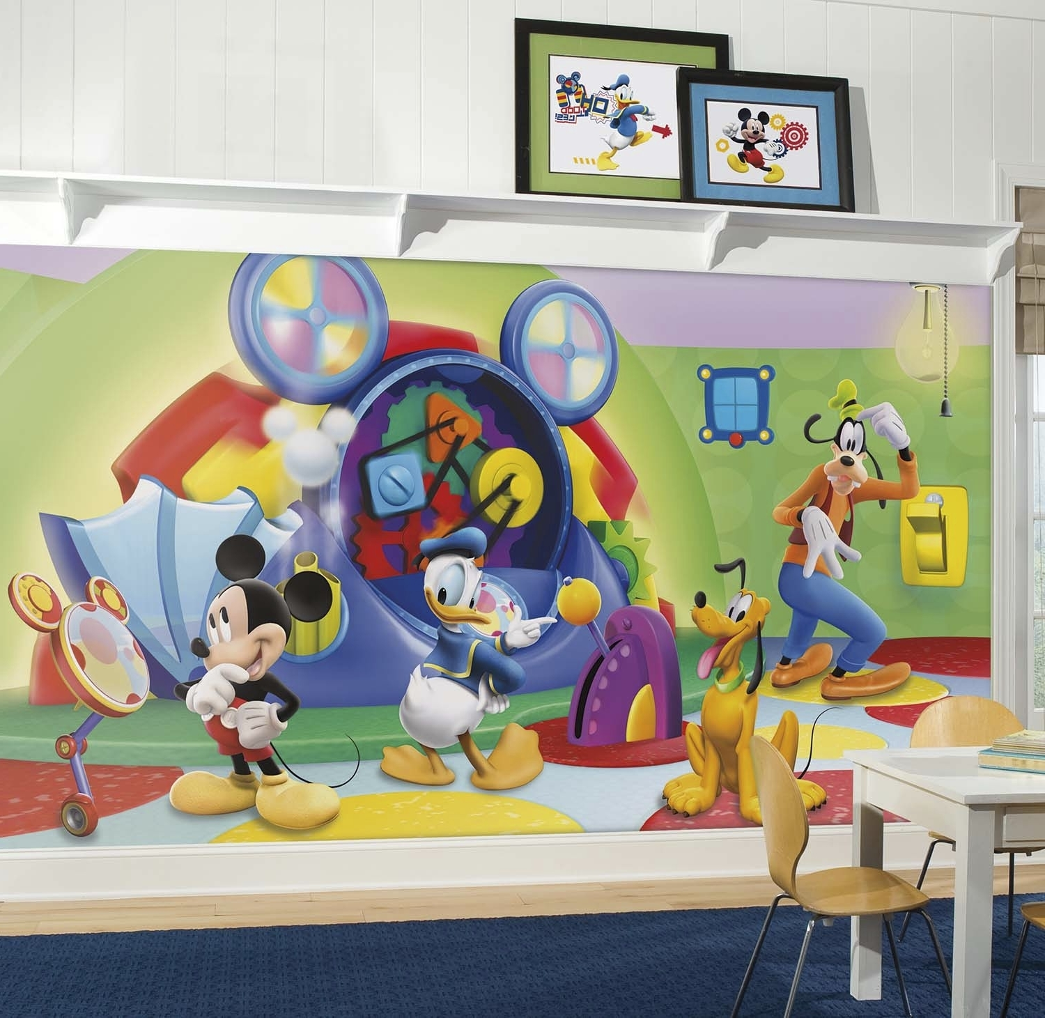 Famous Mickey Mouse Clubhouse Capers Xl Mural  (View 6 of 15)