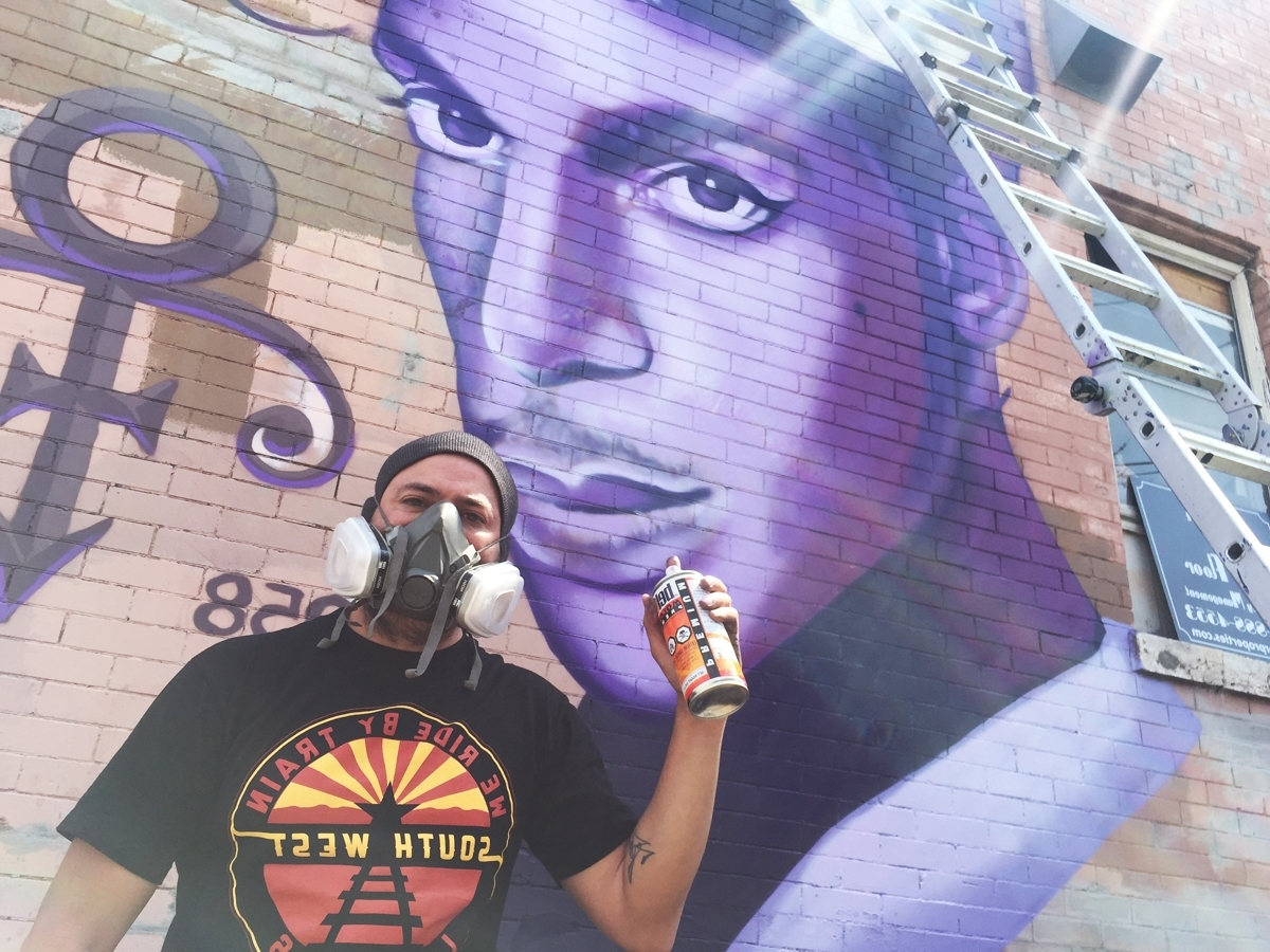 Famous Minneapolis Wall Art Inside New Prince Mural In Uptown: 'a Present To Minneapolis' (View 15 of 15)