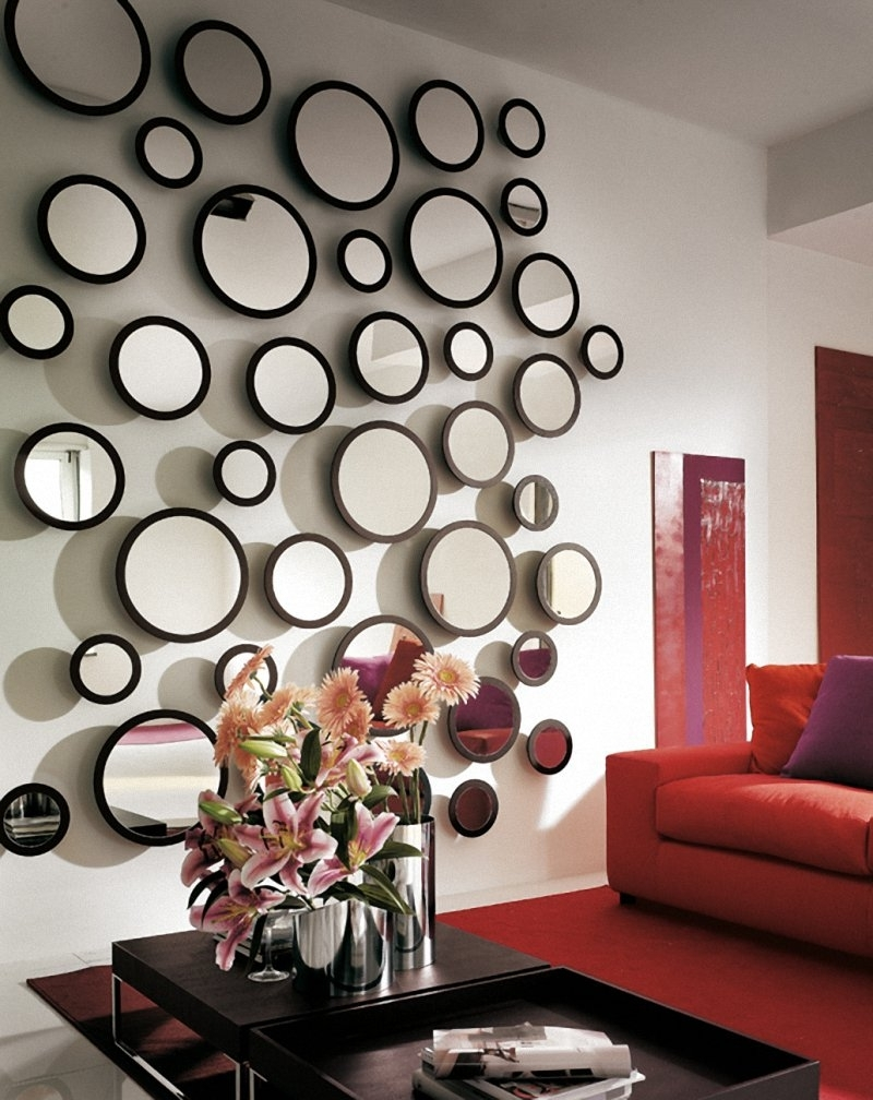 Famous Mirrors Modern Wall Art Regarding Wall Mirror Decor — Unique Hardscape Design : Mirror Wall Décor (View 3 of 15)
