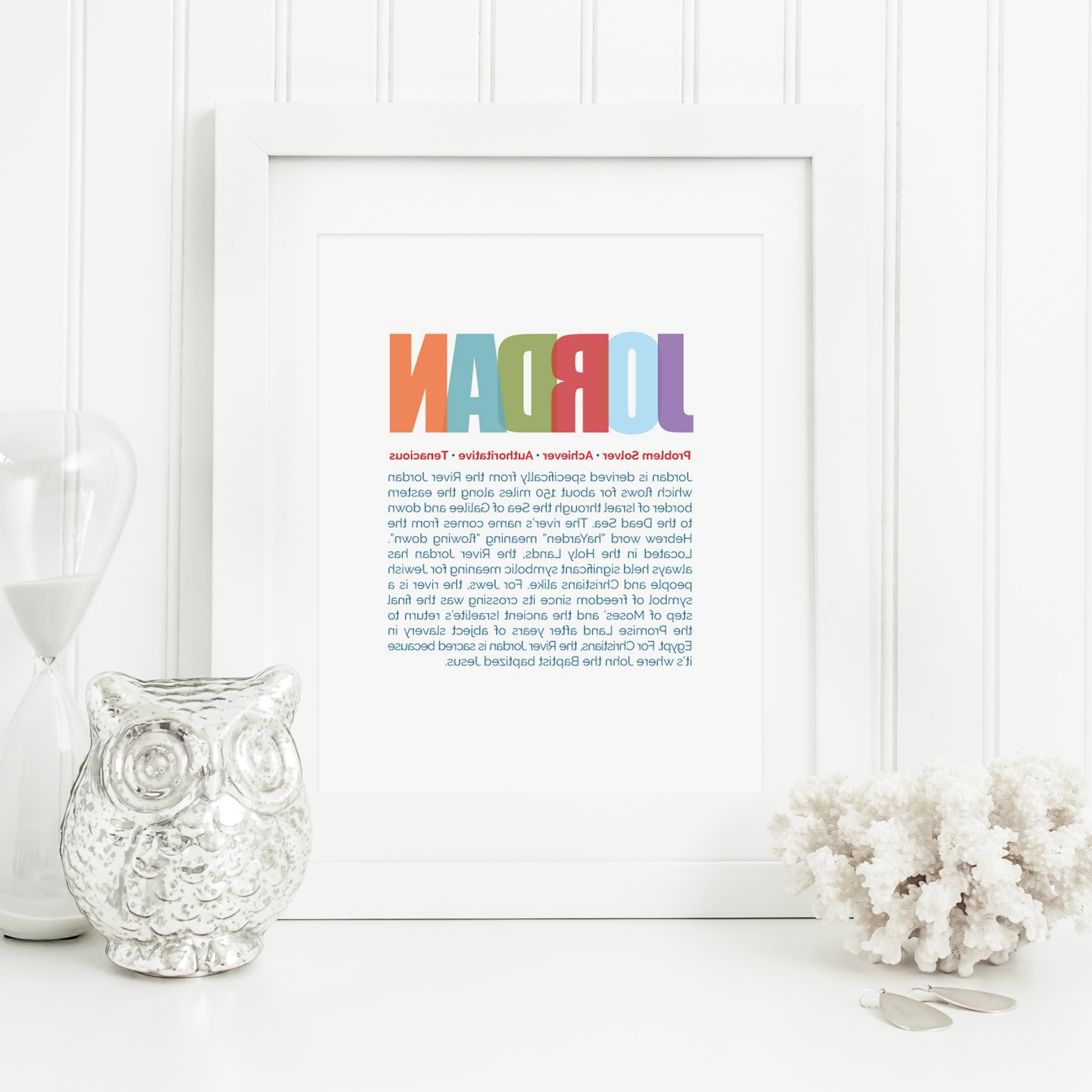 Famous Personalized Nursery Wall Art In Baby Name Meaning Art (View 2 of 15)