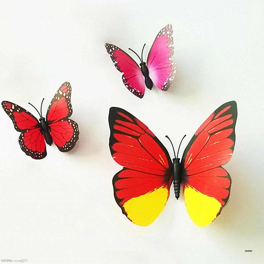 Famous Rainbow Butterfly Wall Art With Rainbow Butterfly Wall Art Inspirational Metal Butterfly Wall (View 4 of 15)