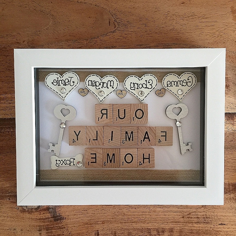 Famous Scrabble Names Wall Art With Scrabble Names Wall Art Inspirational Diy Scrabble Tiles High (View 4 of 15)