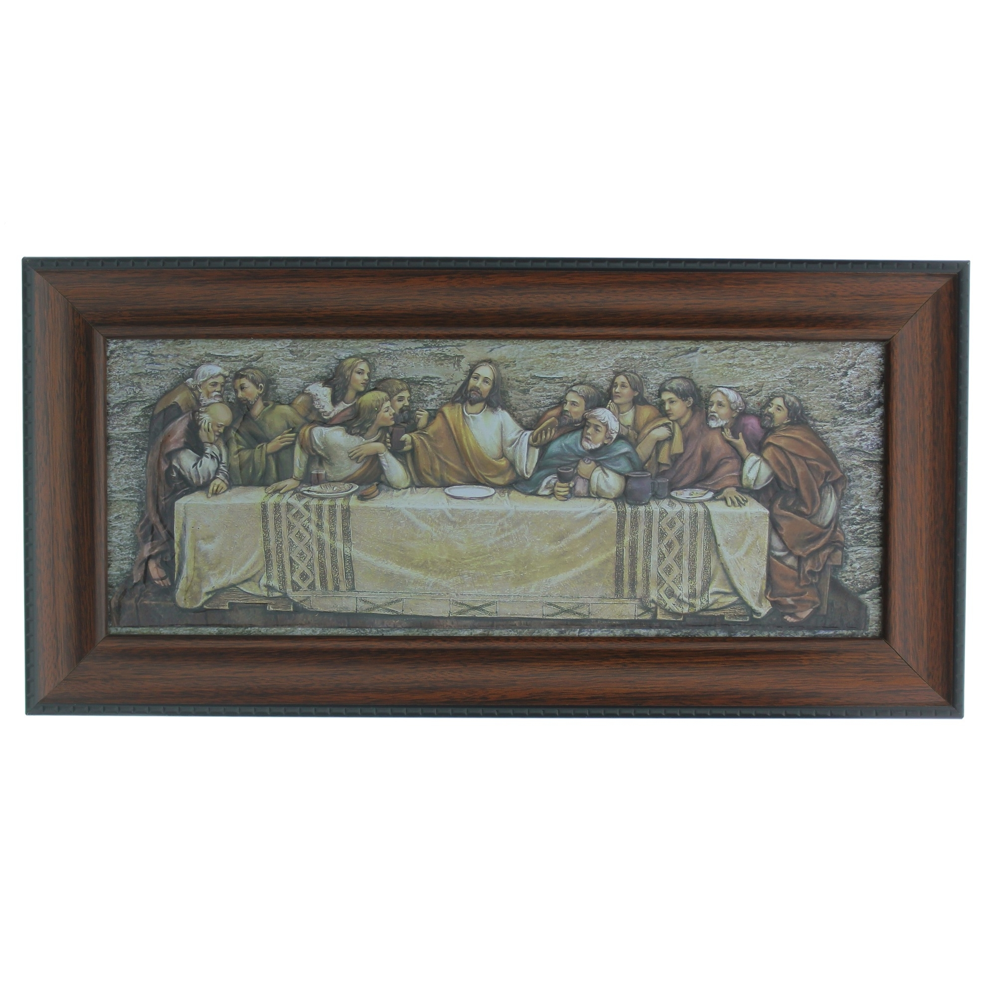 Famous The Last Supper Framed Plaque (View 9 of 15)