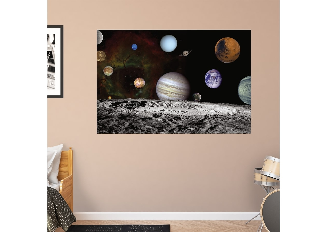 Famous The Solar System – Artist Concept Wall Decal (View 3 of 15)