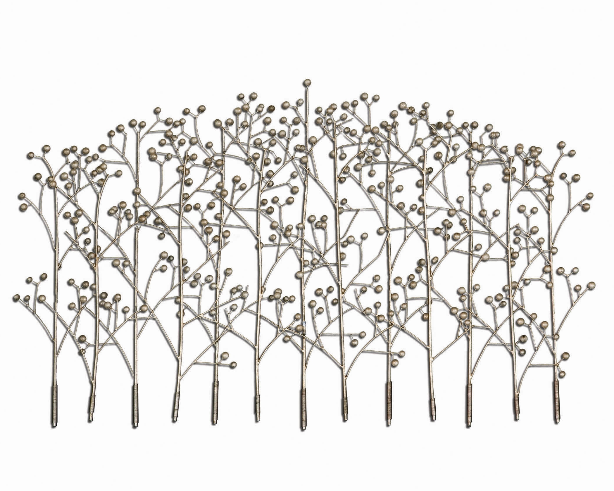 Famous Uttermost Metal Wall Art Regarding Uttermost Iron Trees Metal Wall Art (View 9 of 15)