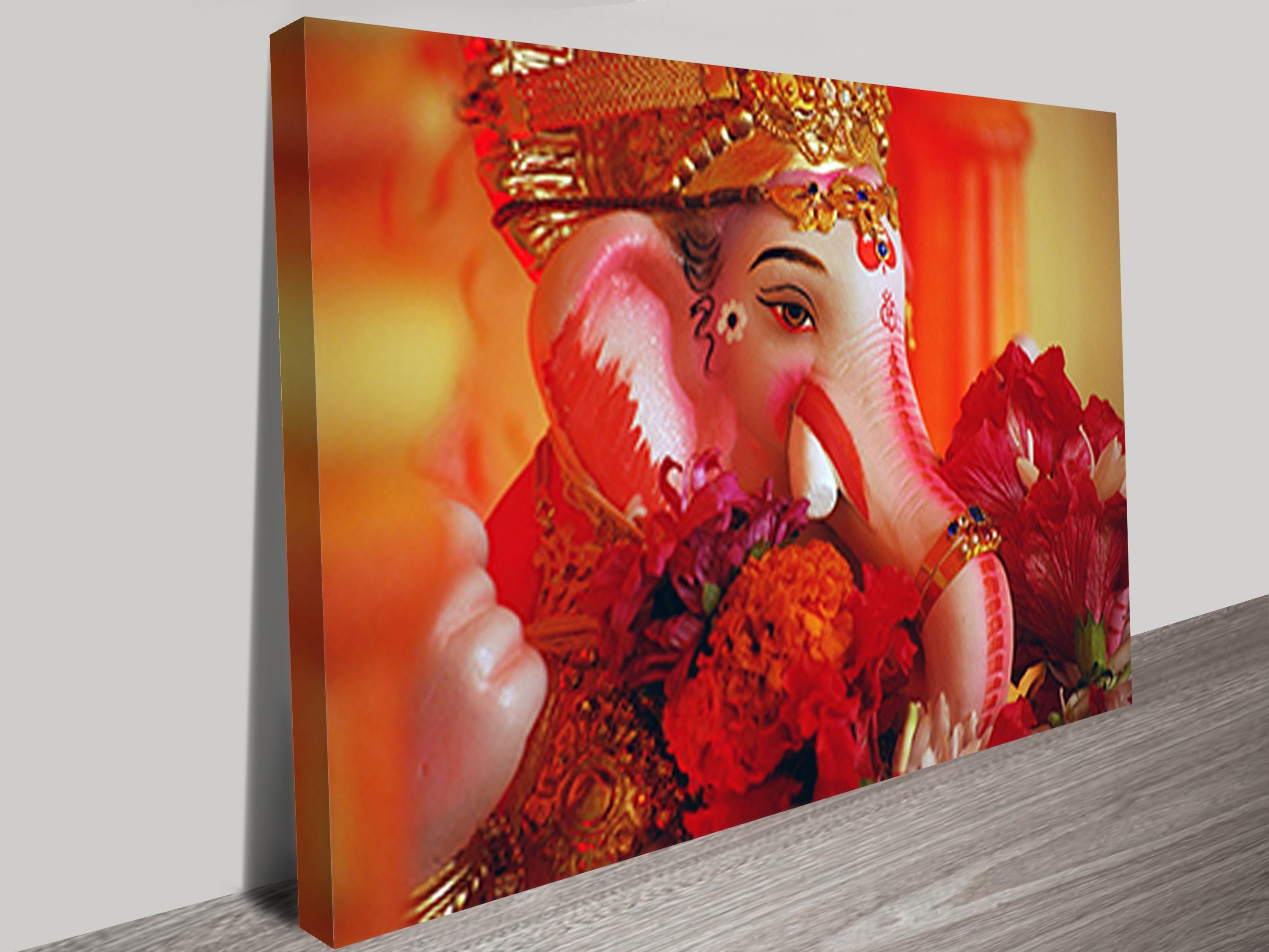Famous Wall Art Canvas Intended For Ganesh Wall Art (View 5 of 15)