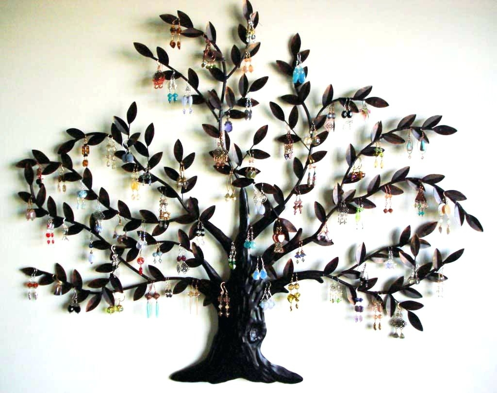 Famous Wall Arts ~ Decorative Metal Wall Art Stores Decorative Metal Wall Throughout Wrought Iron Tree Wall Art (View 8 of 15)