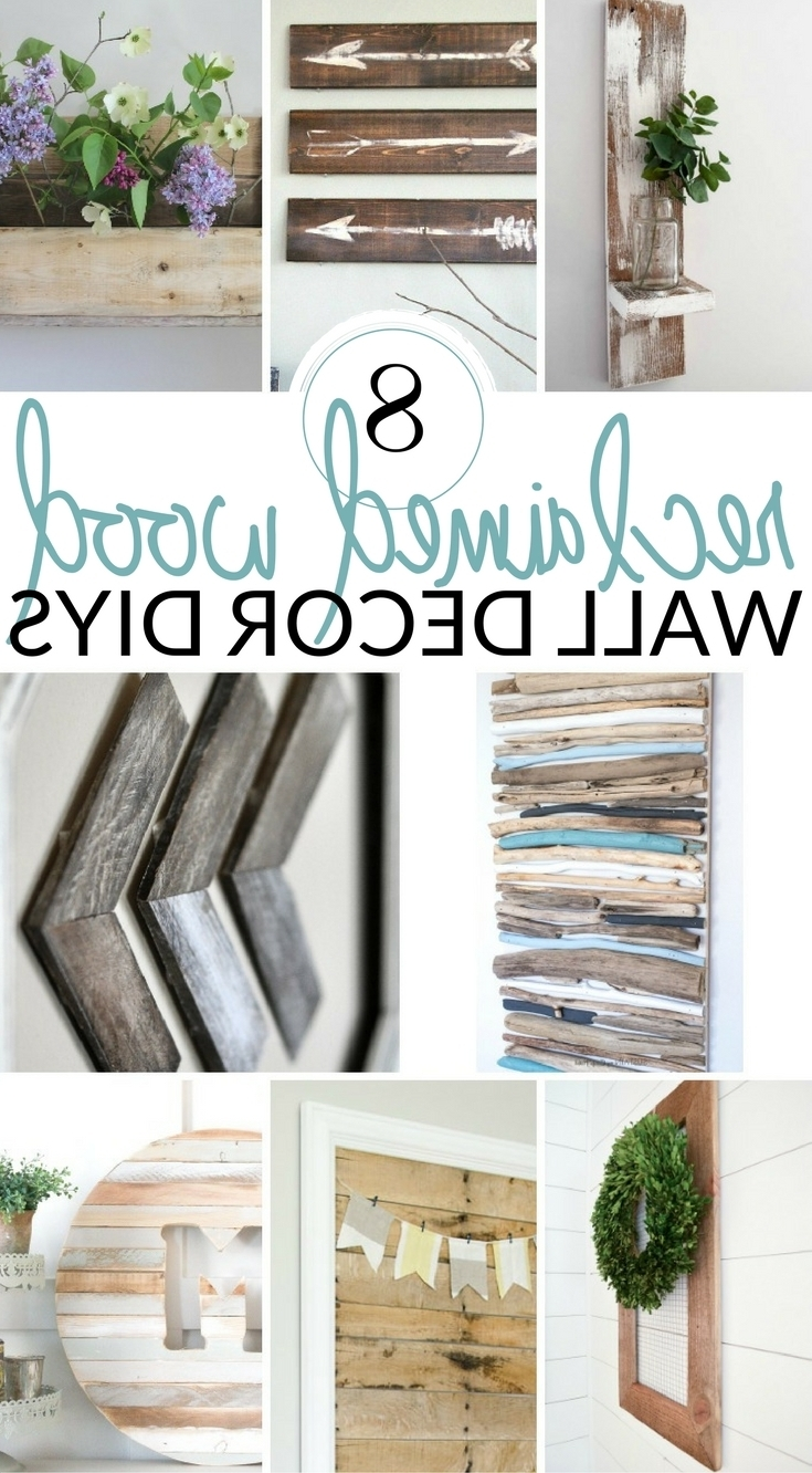 Farmhouse Wall Art Inside Favorite Diy Farmhouse Wall Decor Inspiration – The Crazy Craft Lady (View 7 of 15)