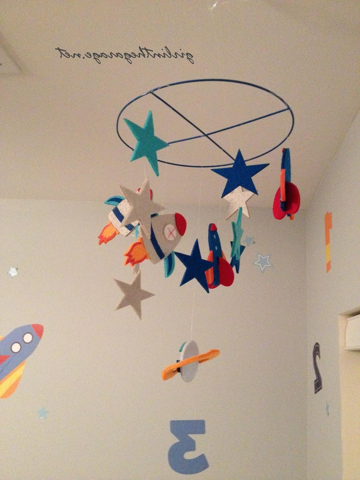 Fashionable 3D Solar System Wall Art Decor With Hanging Planets From Ceiling 3D Solar System Glow In The Dark (View 7 of 15)