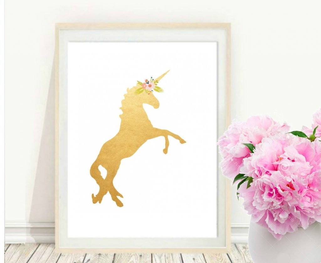 Fashionable 3D Unicorn Wall Art In Homey Ideas Unicorn Wall Art Stickers Uk Australia Nz 3D Canvas (View 5 of 15)