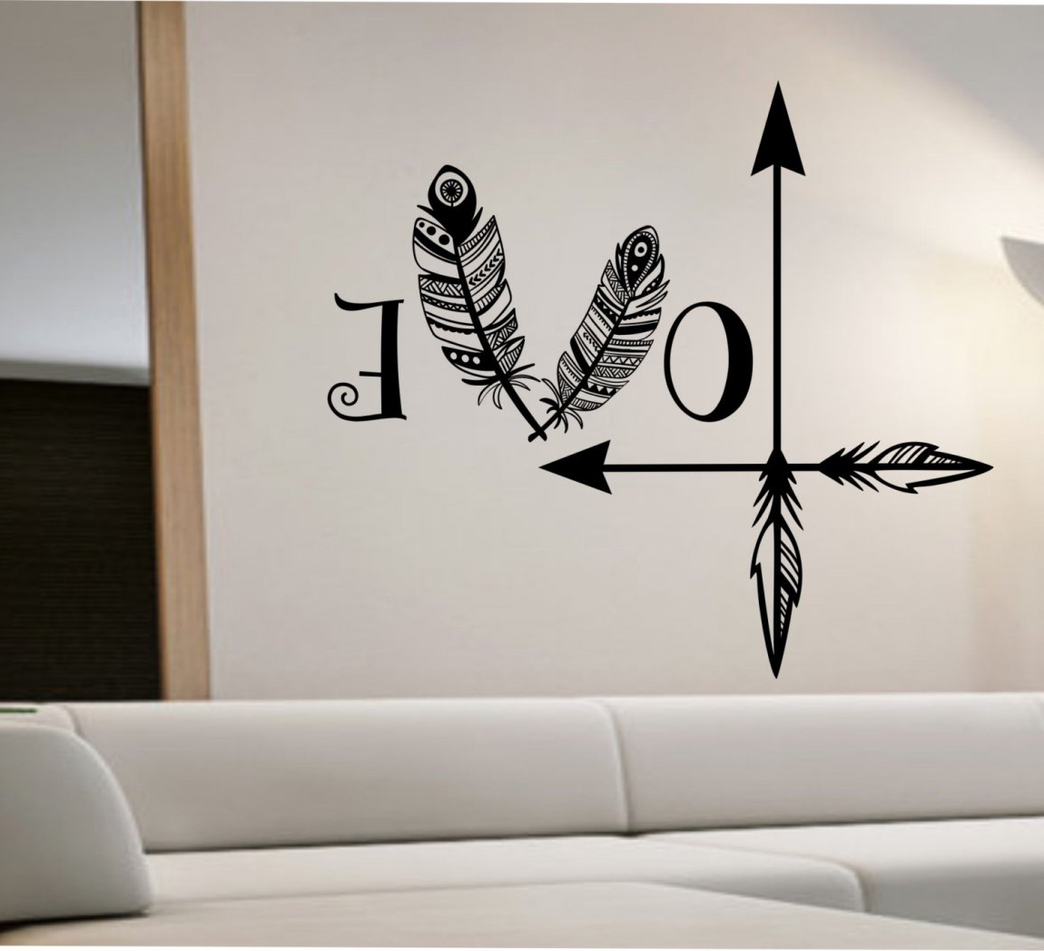 Fashionable 3D Wall Art Etsy Pertaining To 3D Wall Stickers Amazon Bedroom Decals Quotes Decal For Dog Etsy (View 9 of 15)